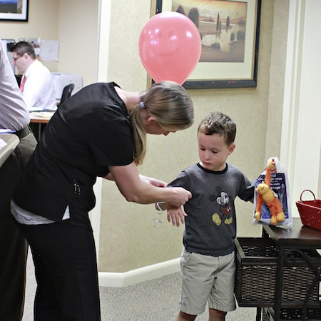 Charlottesville New Patients both young and old are treated like VIPs